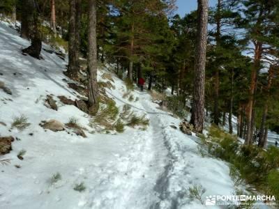 Siete Picos - Valle la Fuenfría; rutas senderismo; nieve en Madrid; Sierra Guadarrama